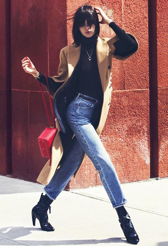 Magda Laguinge by David Bellemere for Elle US August 2014