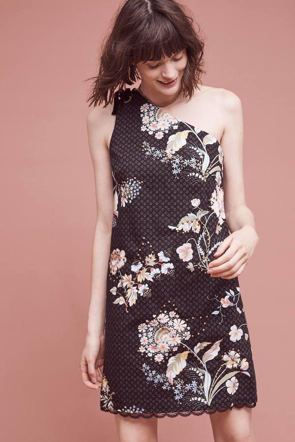 Maeve Ashbury One-Shoulder Dress | Pretty Dresses | Pinterest