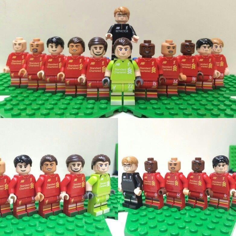 Custom LEGO Liverpool Minifigure Jürgen Klopp