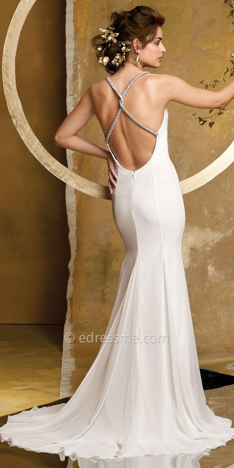 Chiffon and Satin Bias Cut Wedding Dresses by Camille La Vie ...