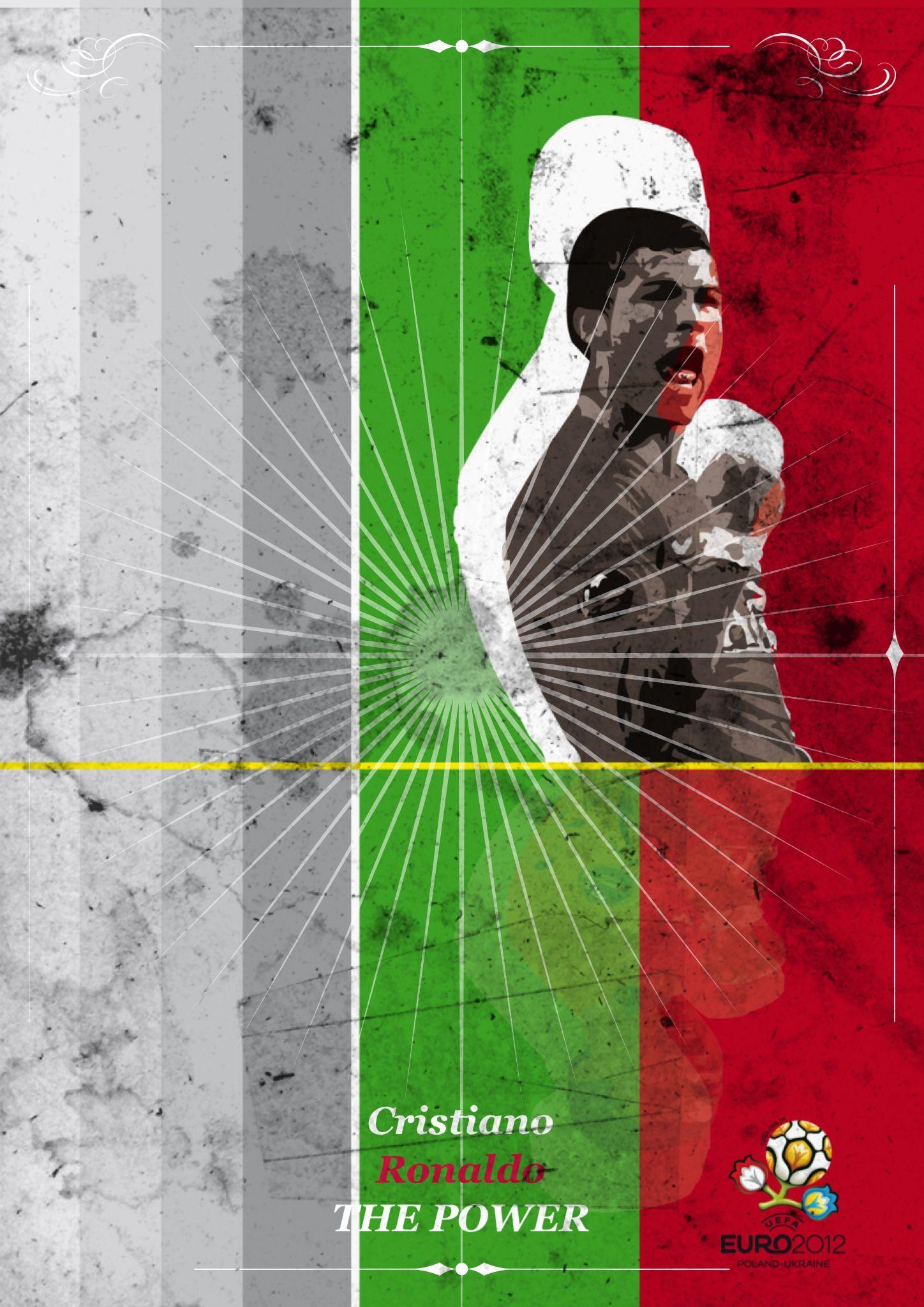 "Portugal vs Czech Republic:  #Ronaldo ""The Power"""