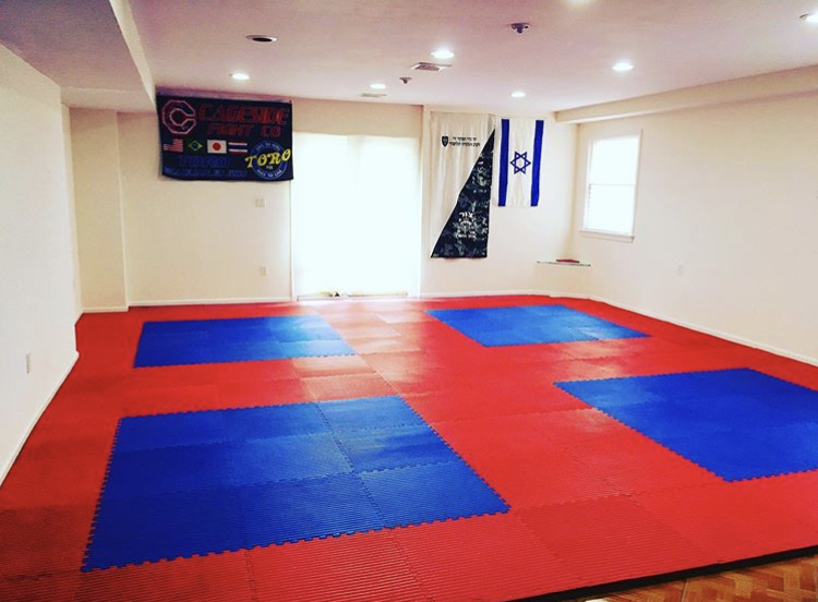 You can transform your basement into a grappling area
