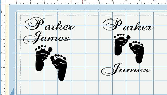 DIY Do It Yourself Vinyl Decal For Glass Block New Baby Night - How to make vinyl decals for glass blocks