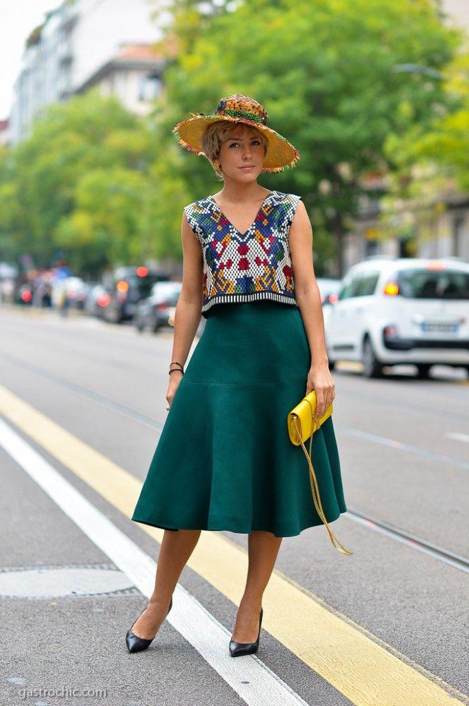 Pinned from GastroChic: Milan fashion week