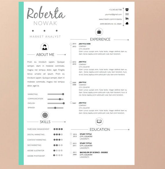 Font For Cover Letter Black Friday Special Resume Template With Coverpappermint