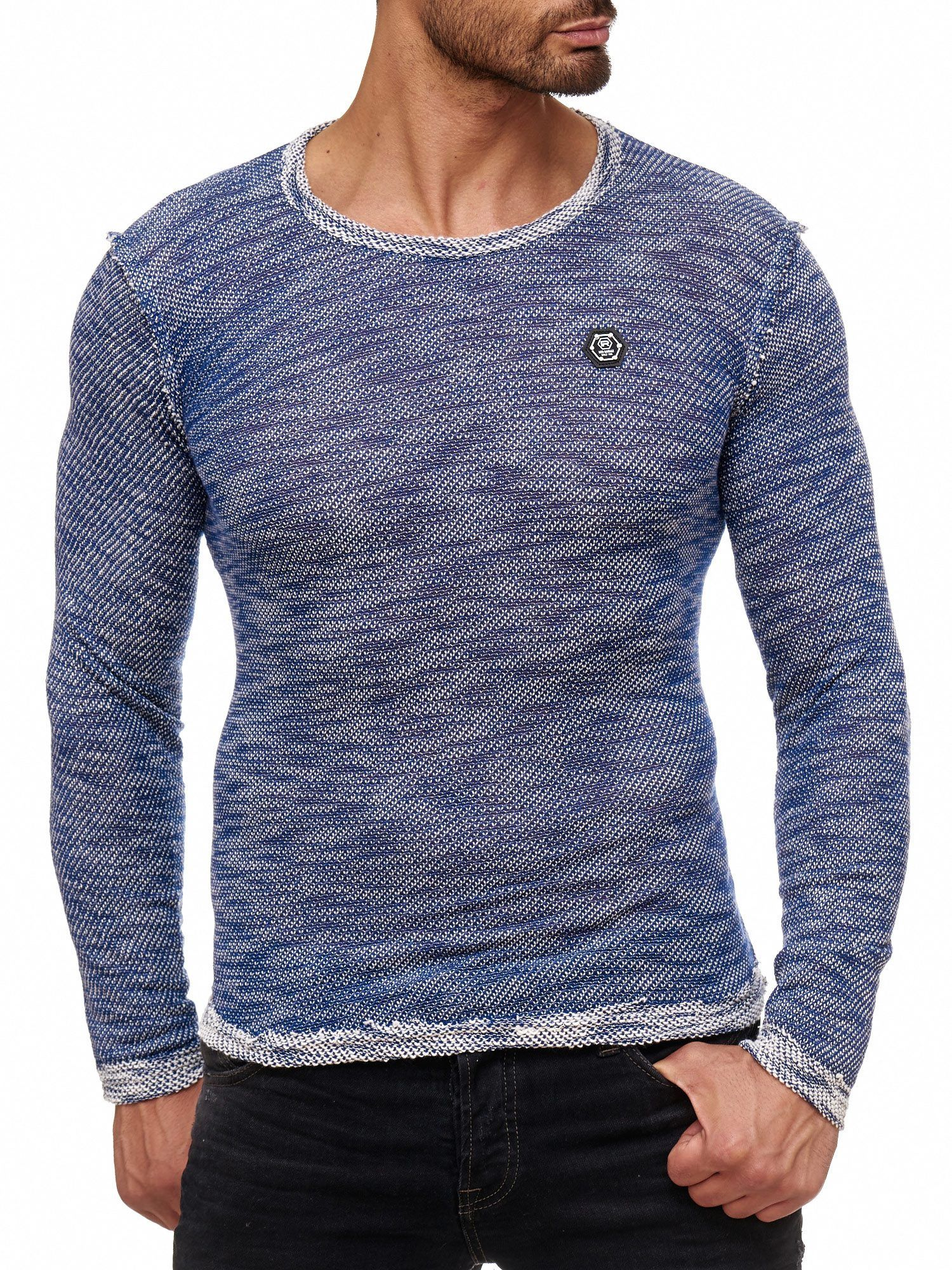 Red Bridge Herren Fresh Color Pullover Strickpullover Longsleeve Indigo! Red  Bridge Herren Strickpullover Design  5f76a2207a