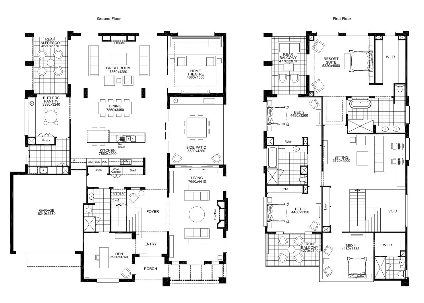 Grange Masterton Homes Double Storey House Plans Double Story House Bedroom Floor Plans