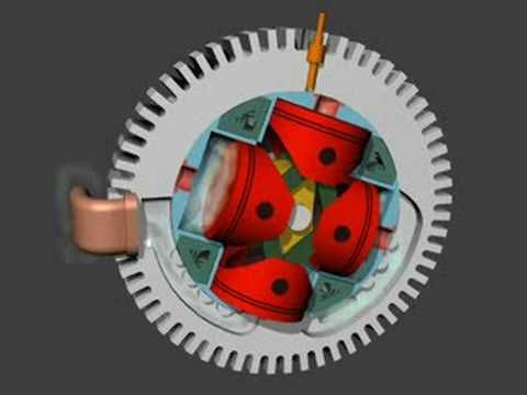 Hale Rotary Aero Engine Simulation 2 - YouTube | How Stuff ...