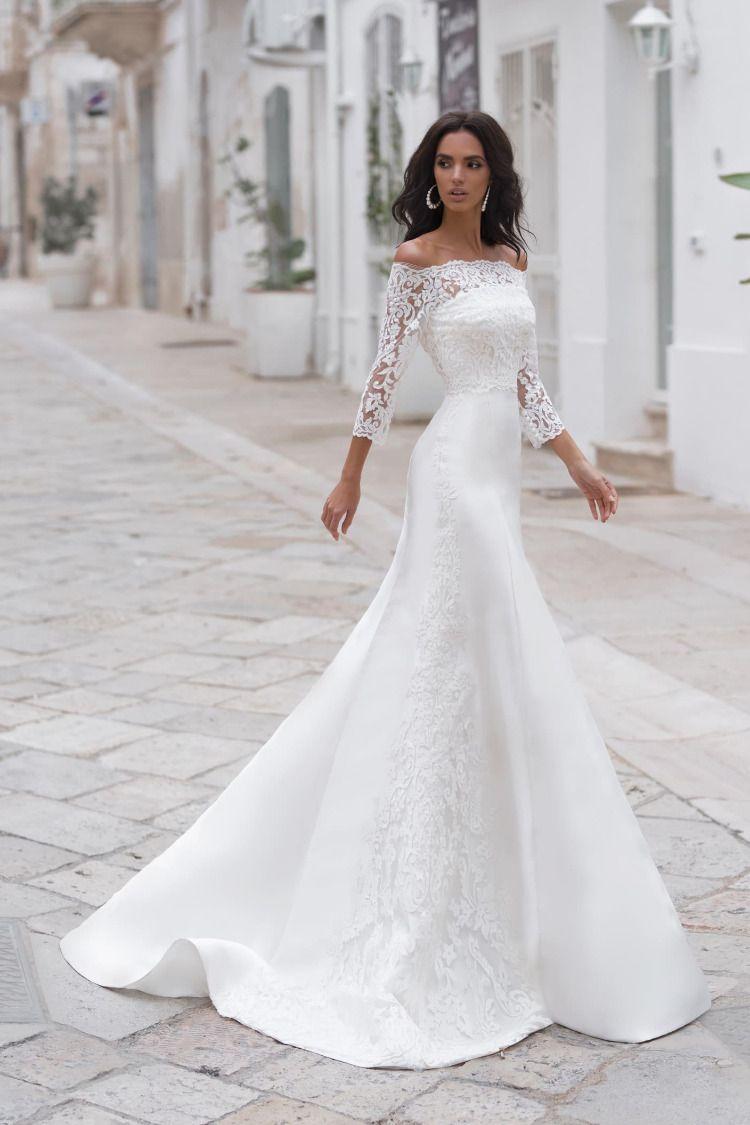Naviblue Bridal Nicco Wedding Dresses Wedding Dress Long Sleeve Dream Wedding Dresses [ 1125 x 750 Pixel ]