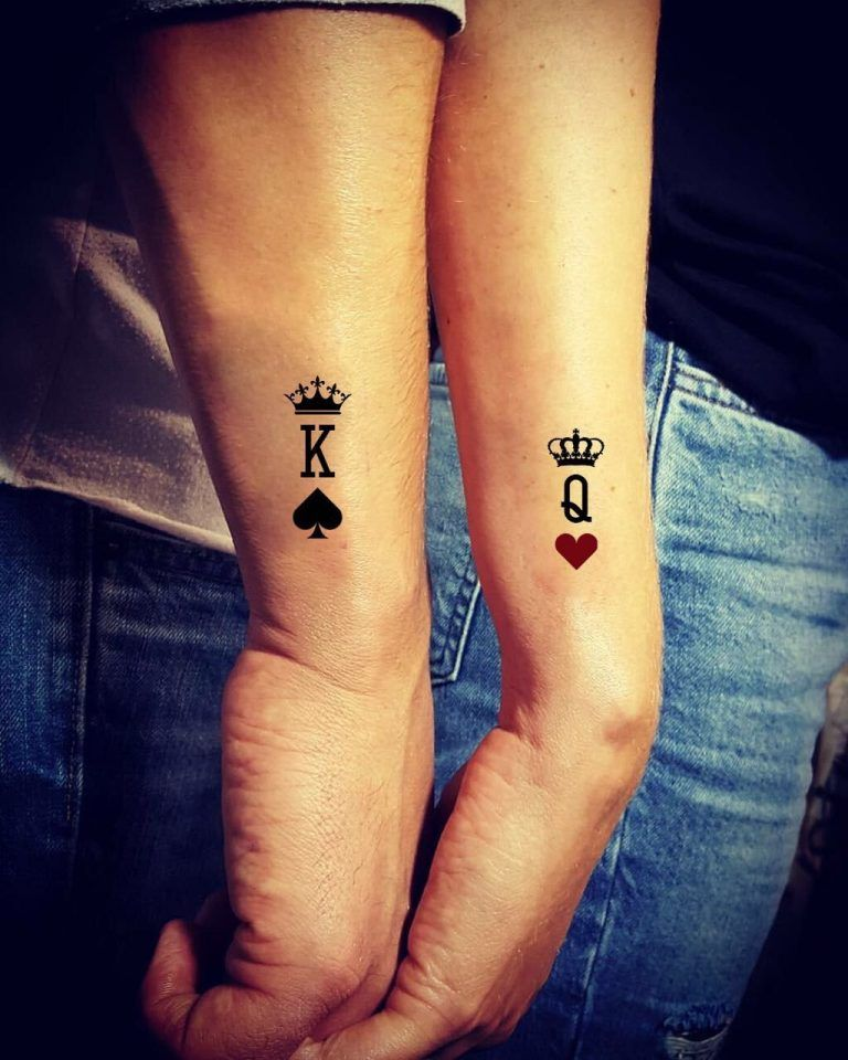 5dfd86eb1 25 Unique Couple Tattoos Ideas for Lovers - Disqora | Tattoo ...