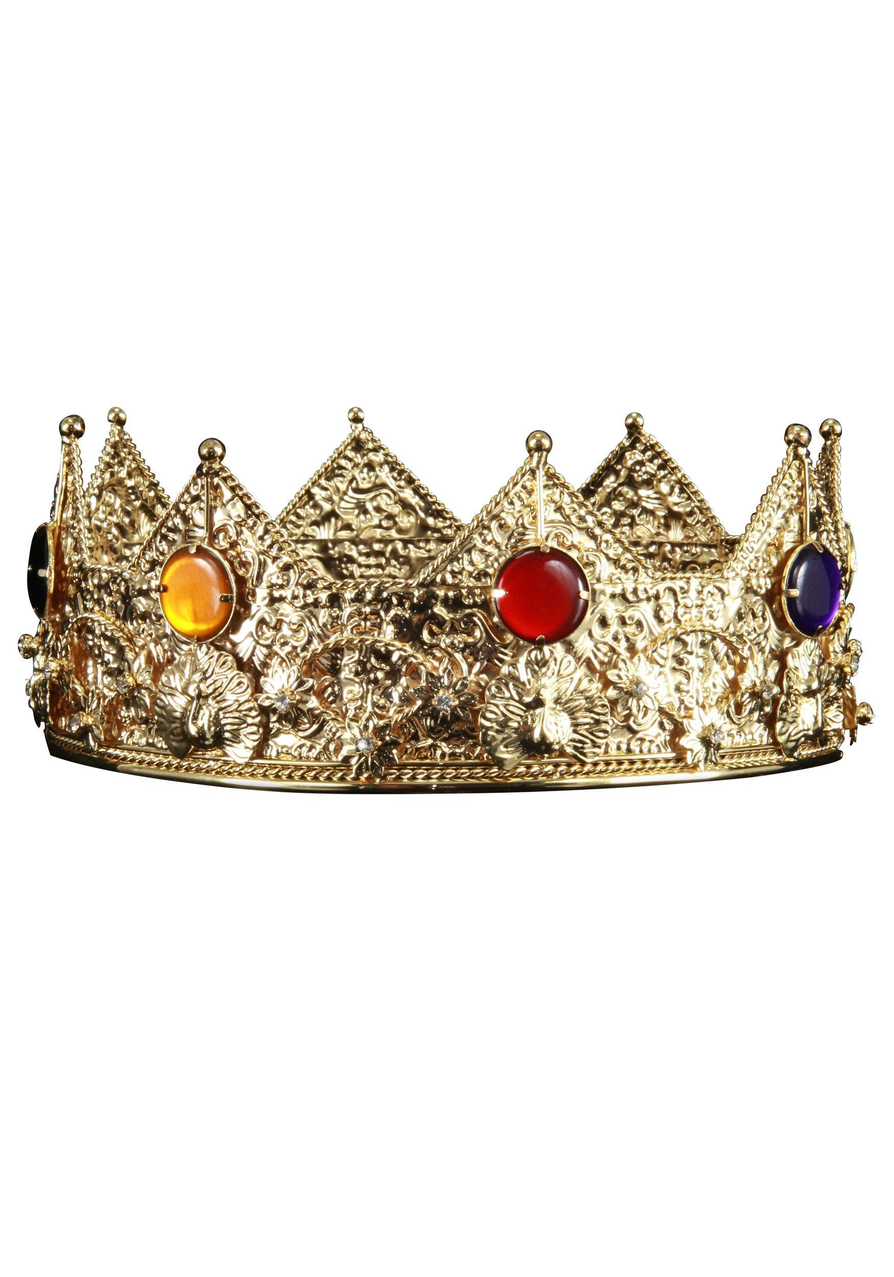 Gold King Crown Ring Gold King Crown Buy New$34.99 ...