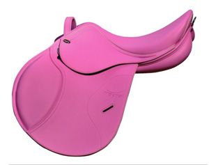 Tekna Pink Pony Saddle - click on image for details.this goes to all the pink lovers out there