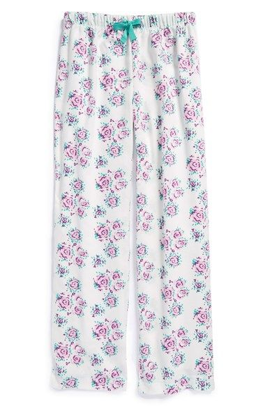 Tucker + Tate Flannel Pants (Little Girls & Big Girls) available at #Nordstrom