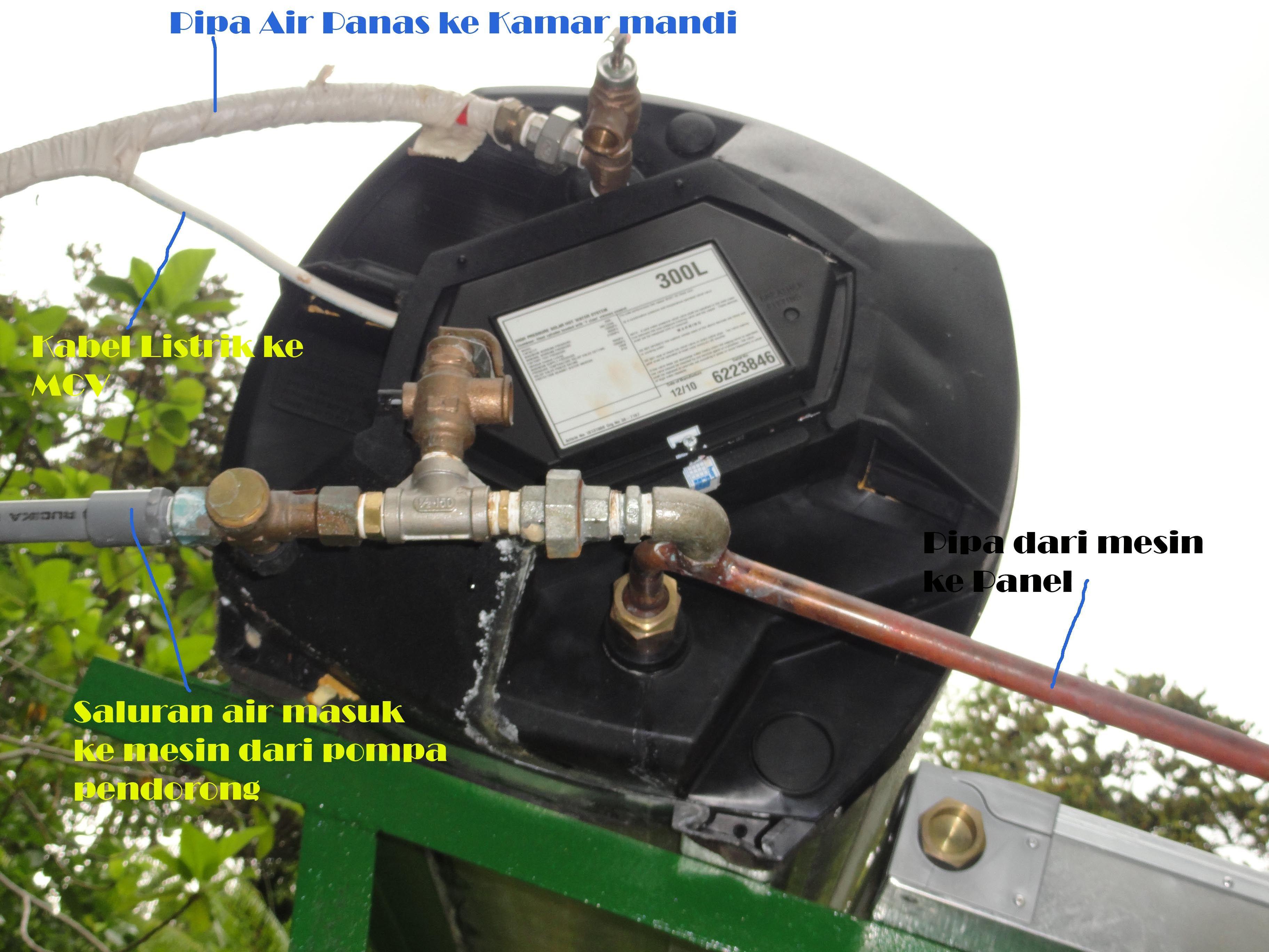 SERVICE PEMANAS AIR MANDI TENAGA SURYA (MATAHARI) 3