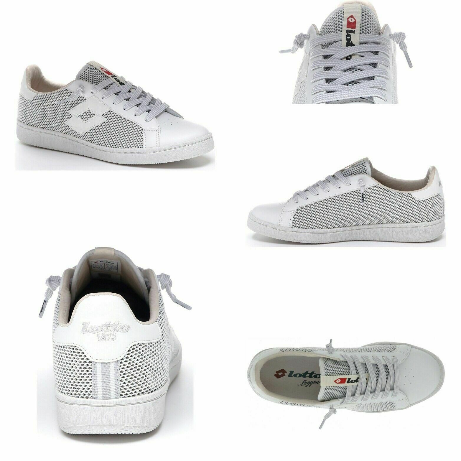 Sneakers scarpe uomo LOTTO LEGGENDA Autograph All White P
