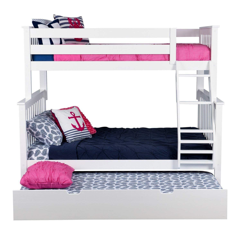 Custom Bunk Beds Romans Rope Full or twin Over Queen Bunk