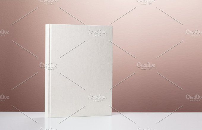 blank hardcover book by AlexZaitsev on @creativemarket