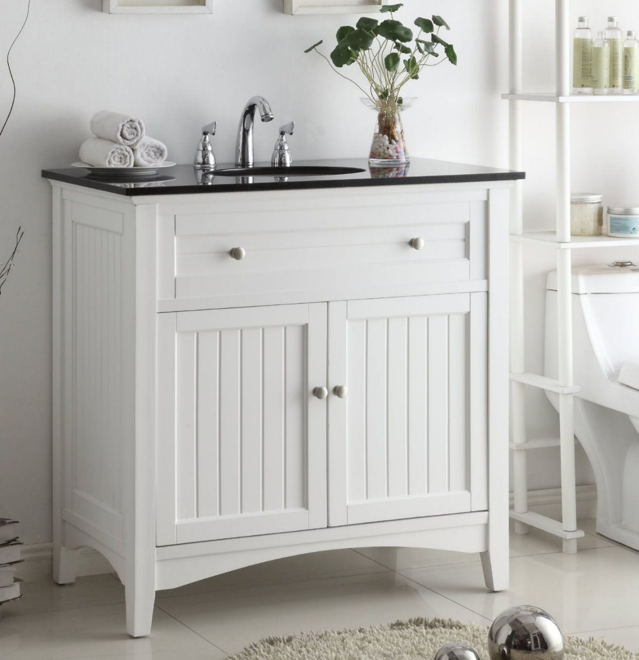 The Plantation Inspired Look Of This Cottage Style Sink Vanity Cabinet Is A Sophisticated Piece Clean Lining Bathroom Offers That Will