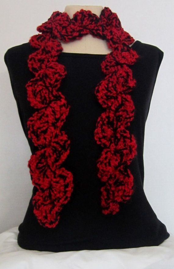 bulldogs scarf crochet scarf fancy crochet by