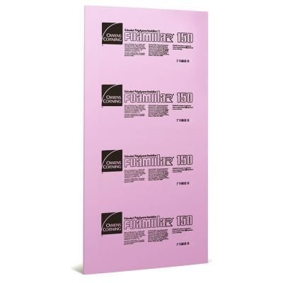 Owens Corning Foamular 150 Scored Squared Edge R10 Insulation Board 2 In X 4 Ft X 8 Ft 45w At The Home Depot Using This For Ceiling Insulation Board Foam Panels Rigid Foam Insulation