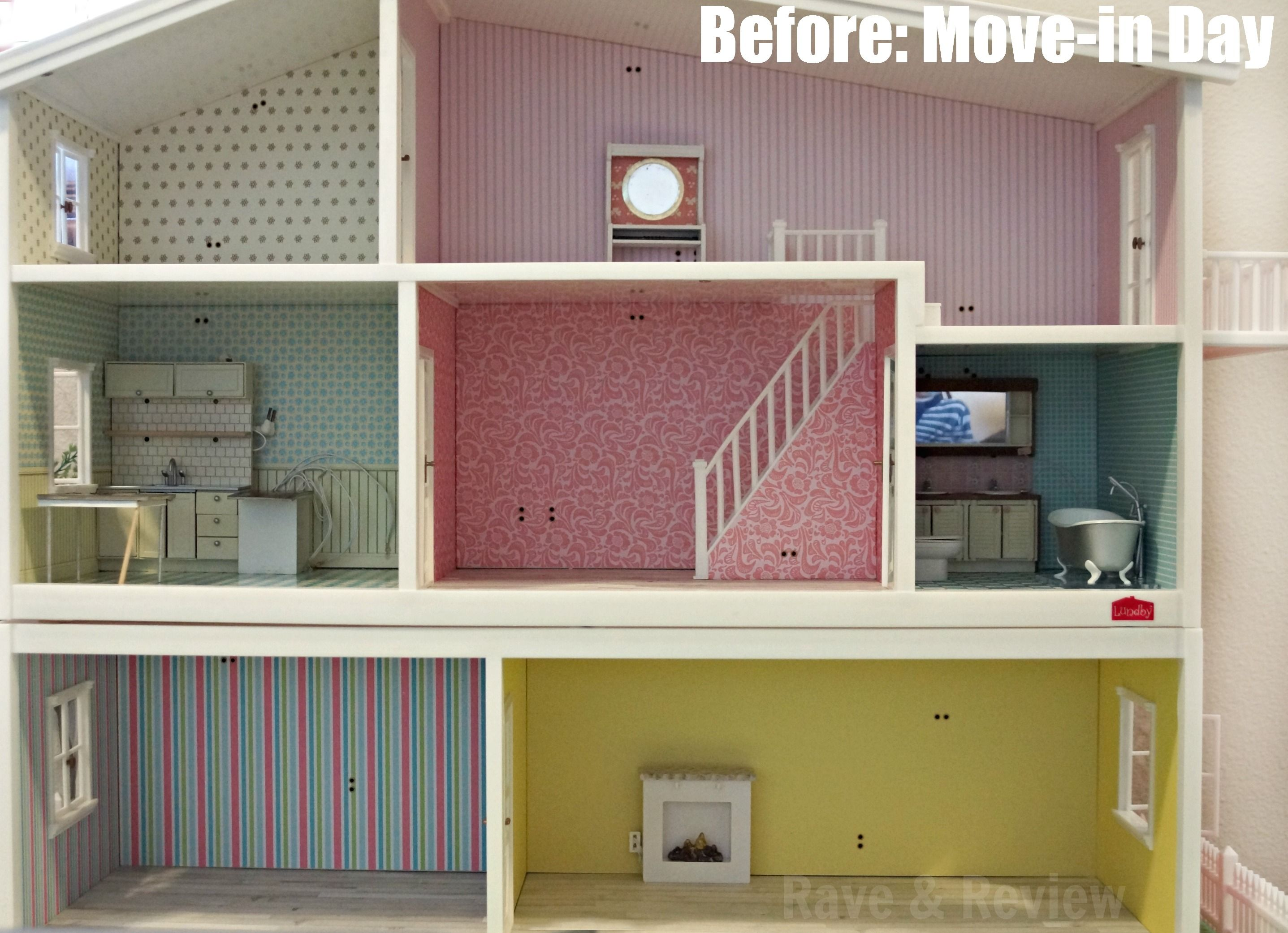 how to build a dollhouse video