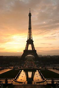 Paris- maybe some day.