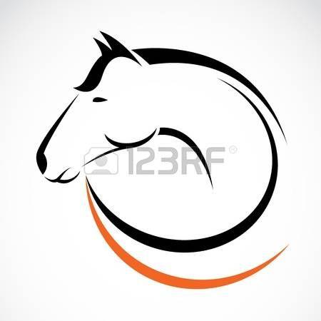 Stock Vector Horse Logo Horse Silhouette Horses