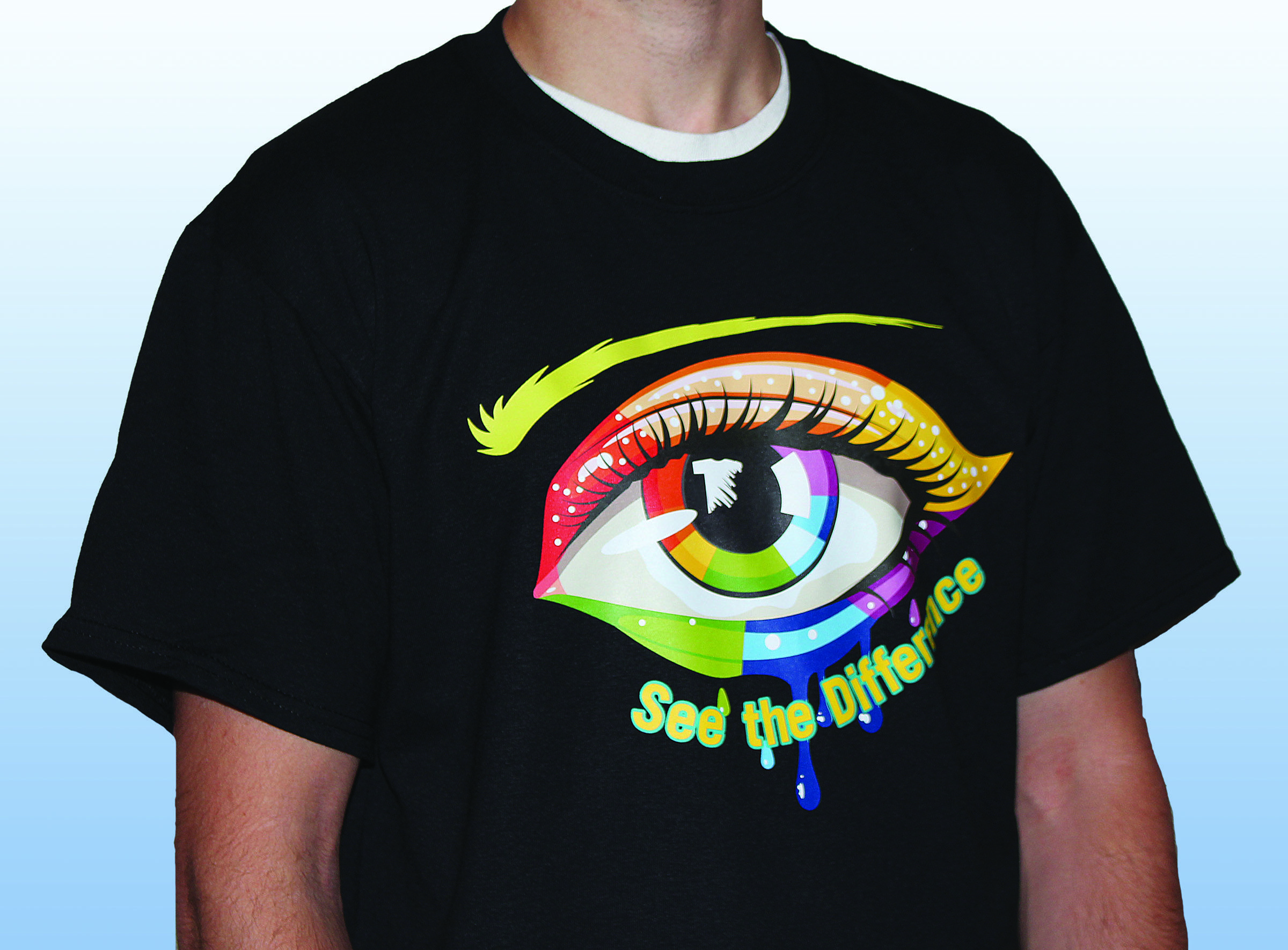 Shirt design transfer - Decorate Your Apparel With Stretch Litho Heat Transfers Full Color Digital And Screen Printed