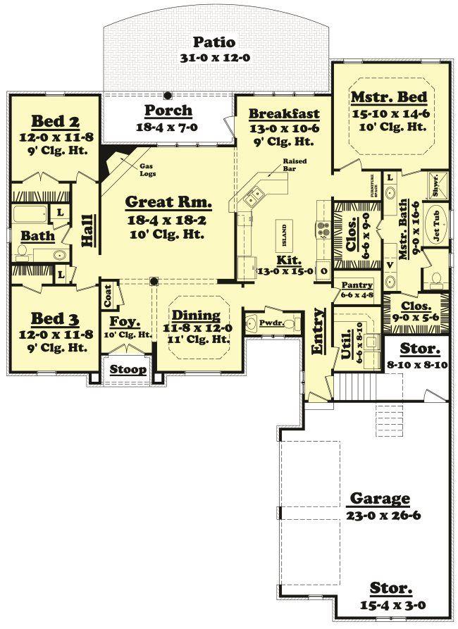 Home Plans House Plans Floor Plans Design Plans 2200 Sq Ft House Plans French Country House Plans Barndominium Floor Plans