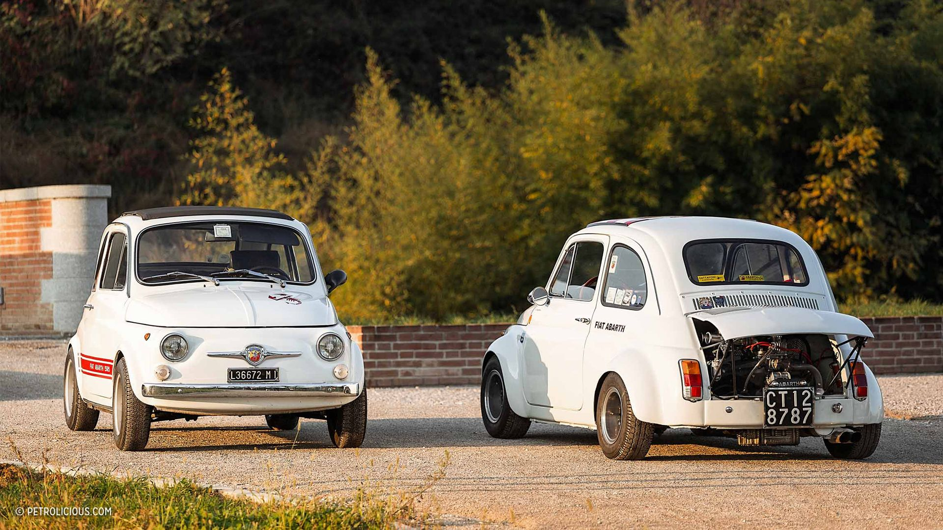 Tiny Classic Cars Will Let You Drive On The Limit Anywhere Classic Cars Car Fiat