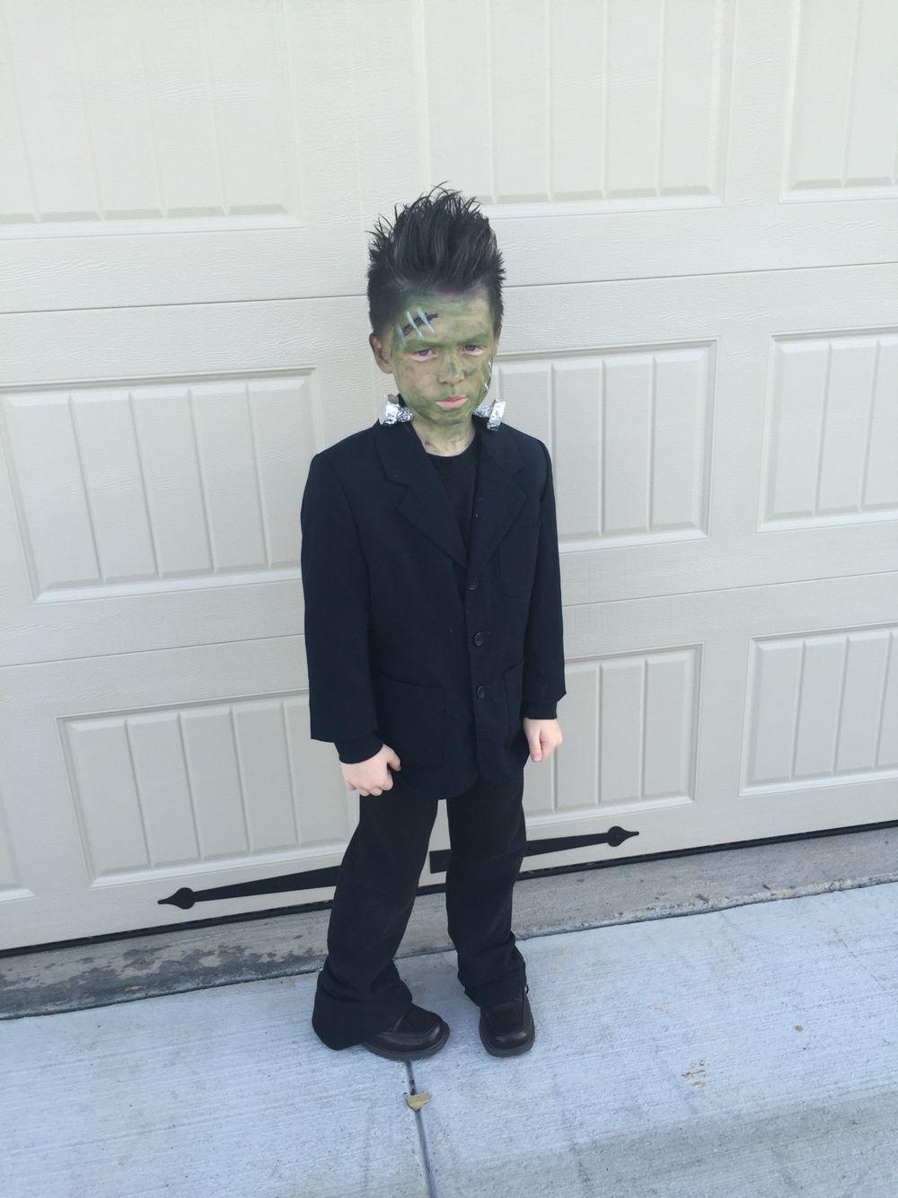 Boys 39 frankenstein costume diy costumes pinterest for Easy halloween costume ideas for boys