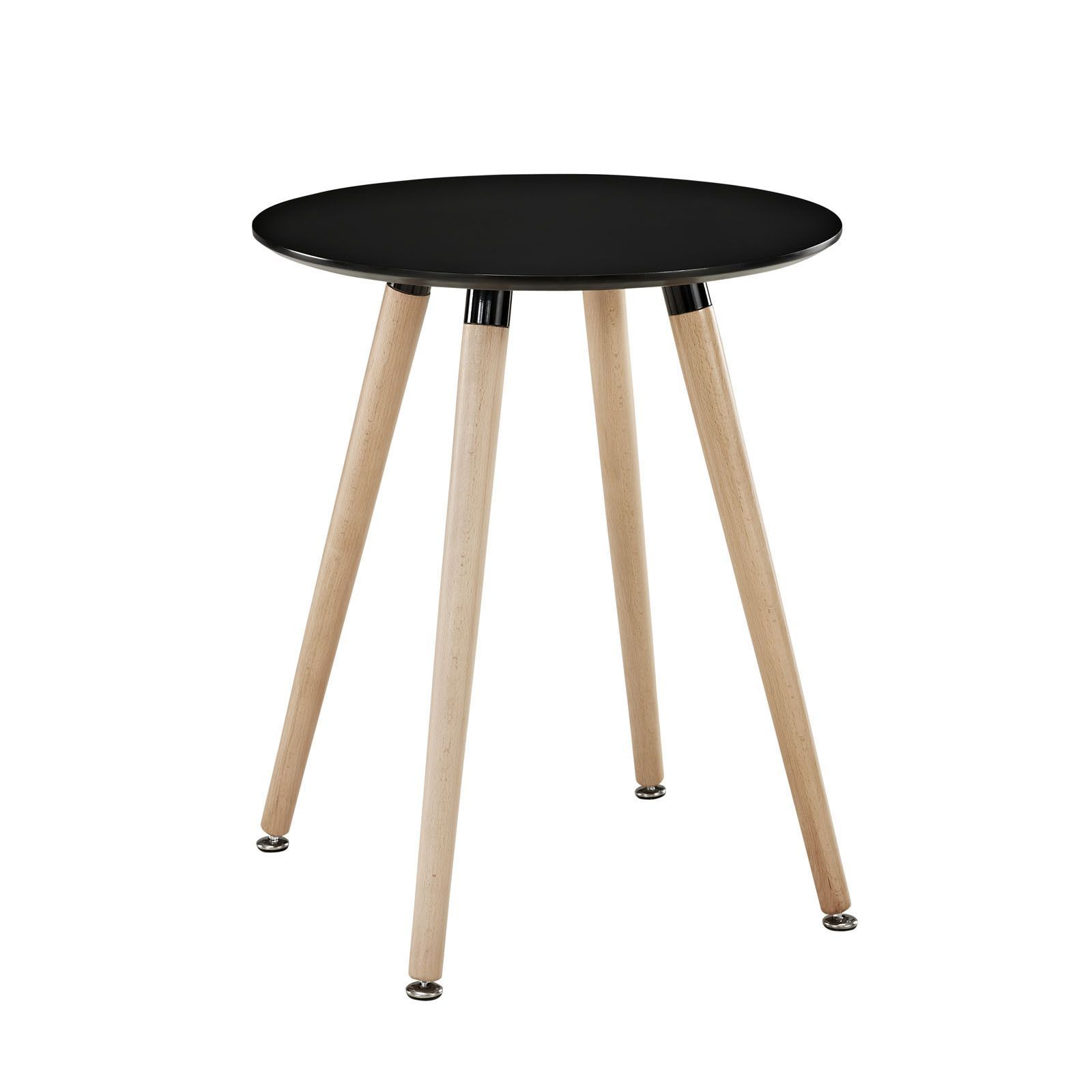 Solid Beechwood Legs And A Smooth Veneer Top Create An Artistic Side Table That Presents