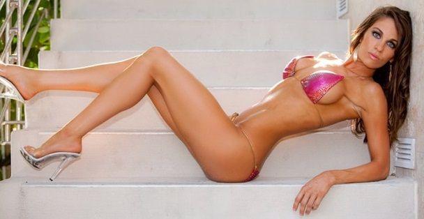 National Level Bikini Competitor & Fitness Model Amber Day ...