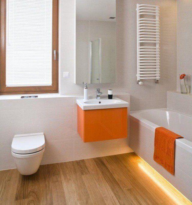 Carrelage salle de bain imitation bois – 34 idées modernes   Meuble ...