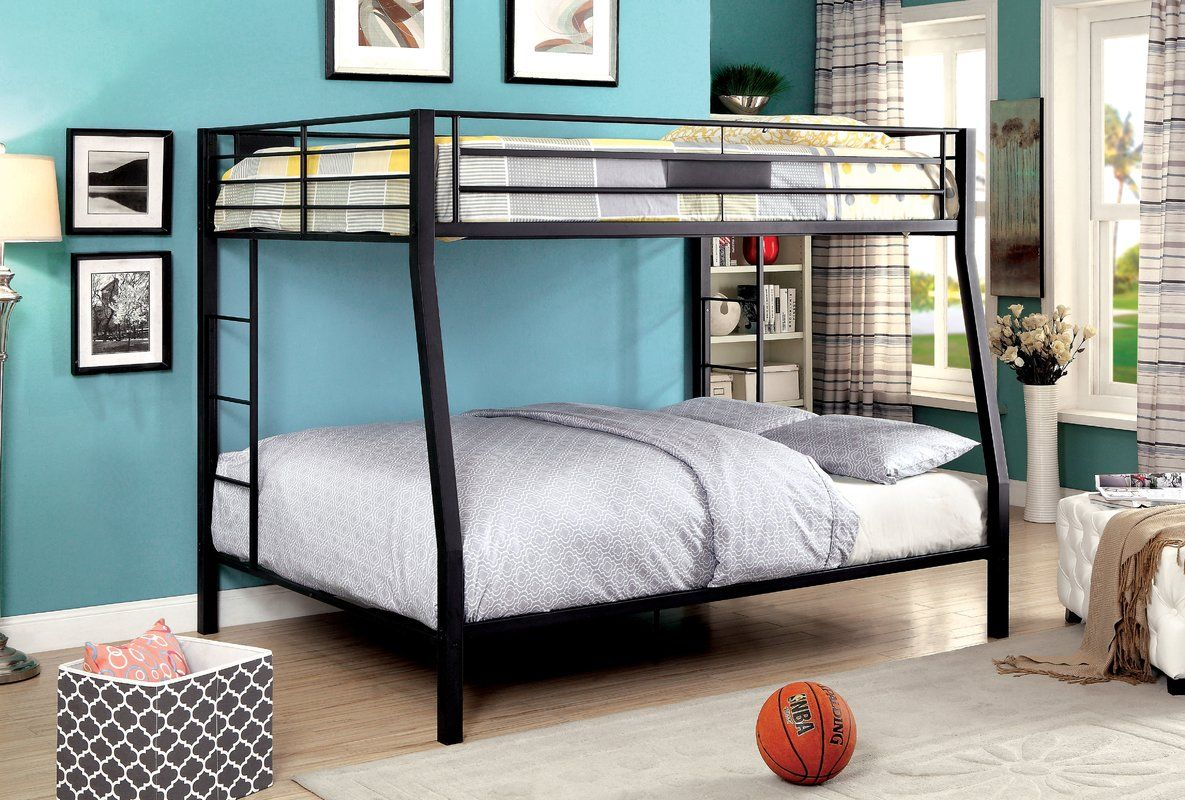 Alfredo Full over Queen Bunk Bed Queen bunk beds, Bunk