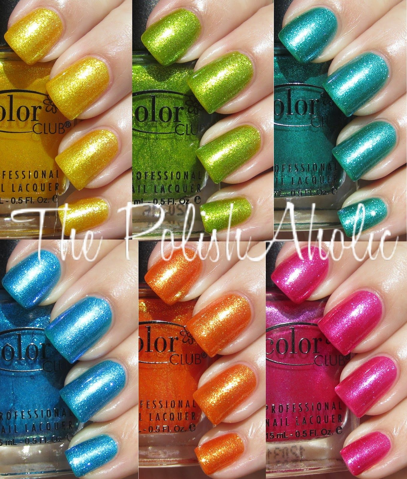 Color Club Take Wing Collection 2012. Love these colors, fun for ...