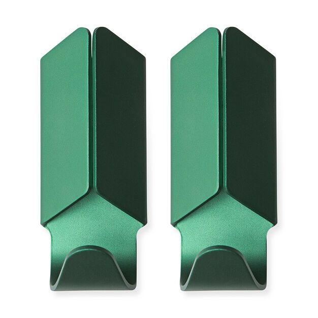 HAY Volet Hook Set of 2 in color Green