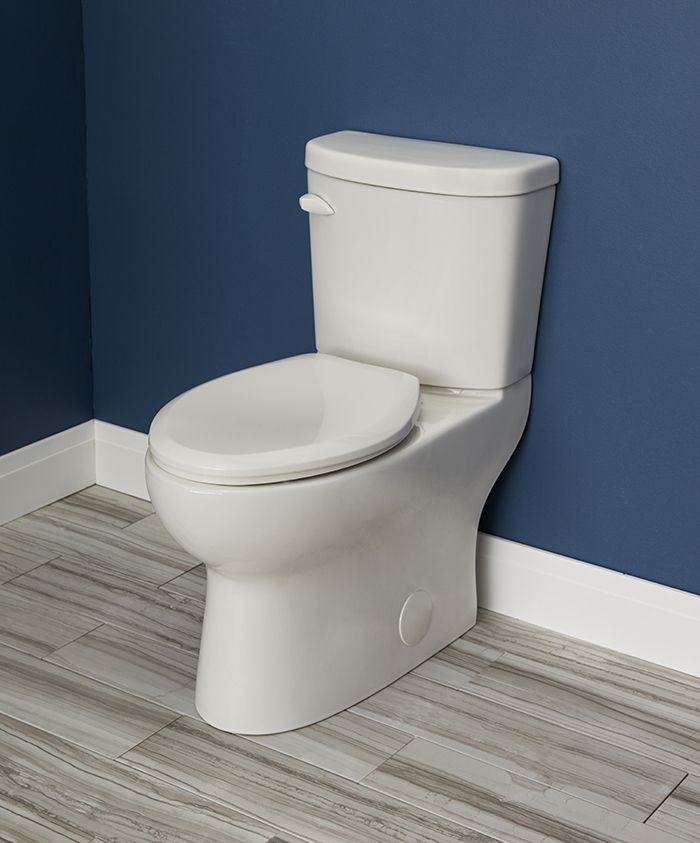 Gerber Plumbing VP-21-528 Gerber Viper Watersense High-Efficiency Elongated  Siphon Jet Toilet Bowl, Ada-Compliant, 1.6 Gpf/1.28 Gpf, White - 2463449