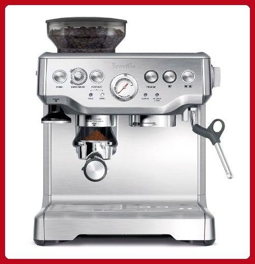 Breville Bes870xl Barista Express Espresso Machine Fun Stuff And Gift Ideas Amaz Best Home Espresso Machine Breville Espresso Machine Home Espresso Machine