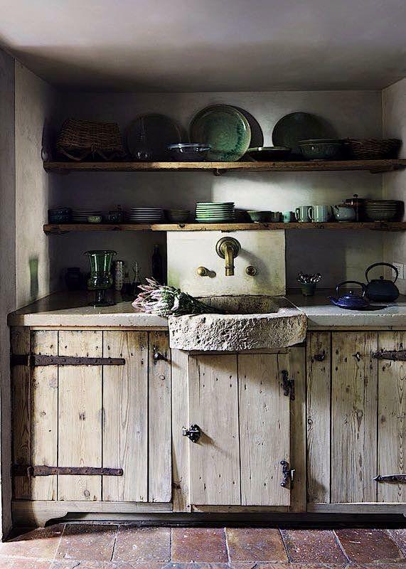 Rustikale Küchenschränke pin becky locke auf beautiful küche und vintage