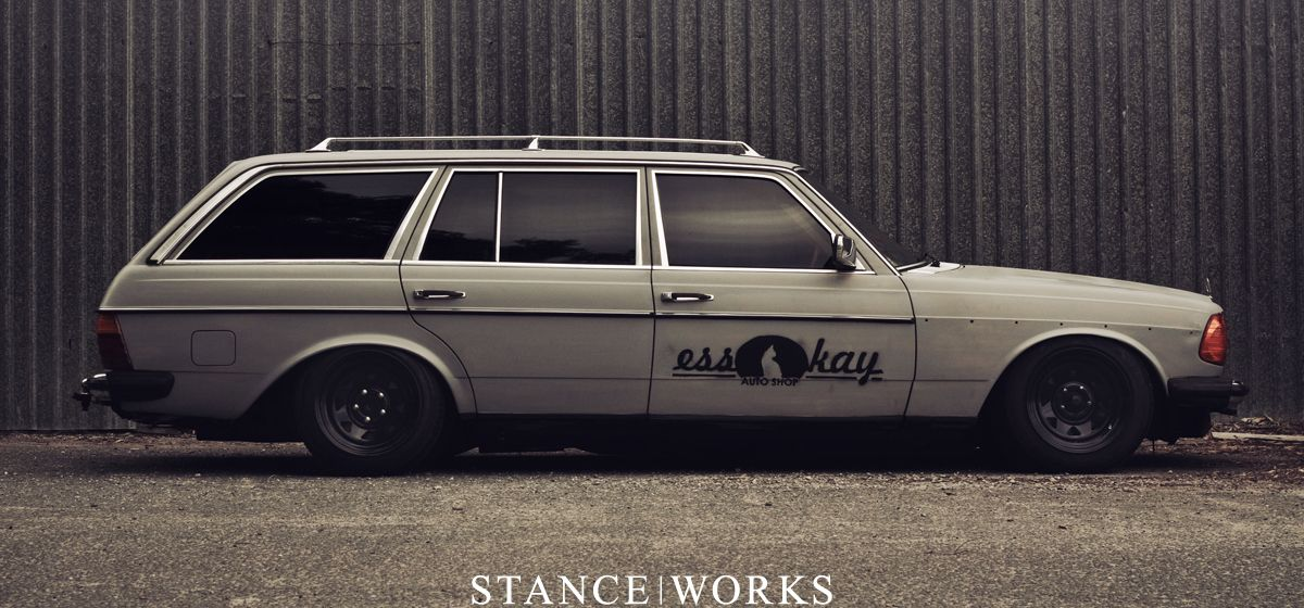 benz-wagon-steelies-street-karnage-title w123 | Mercedes - Benz W ...