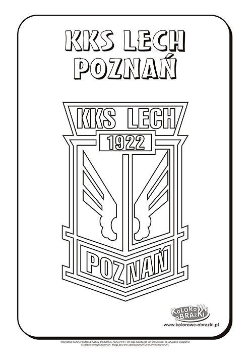 Lech Poznań Logo Kolorowanka Kolorowanki Dla Dzieci