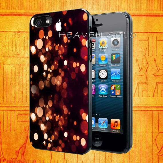 Glitter Bokeh for iPhone 5S iPhone 5C iPhone 5 by HEAVENSOLO, $13.00