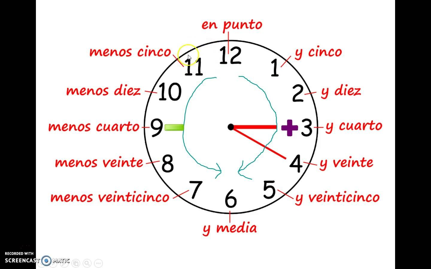Que Hora Es Telling Time In Spanish With Images
