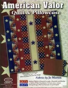 American Valor Quilt/Pillowcase Kit