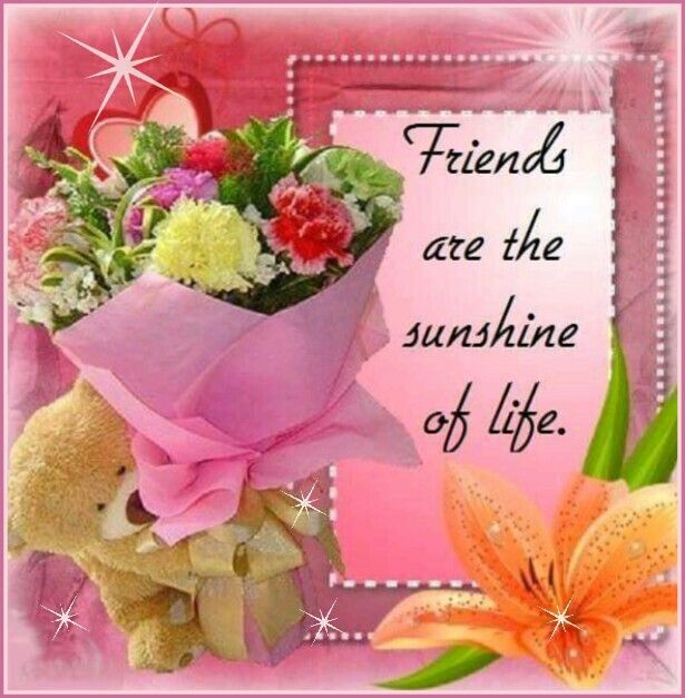 Thank you for being mine! Love Sis.Willine!   A Friend Loves At ...