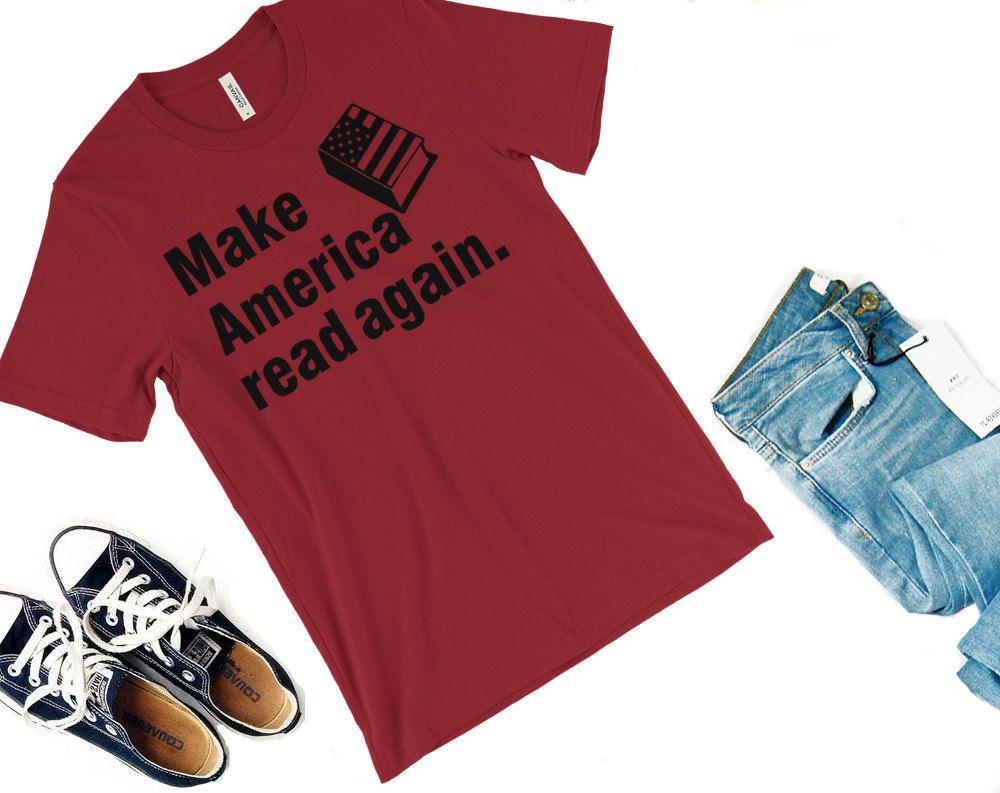 Make America Read Again Shirt Readers For Change Protest Shirt Feminist Shirt Book Shirt Reader Shirt Readi Literary Shirts Reader Shirts Feminist Shirt