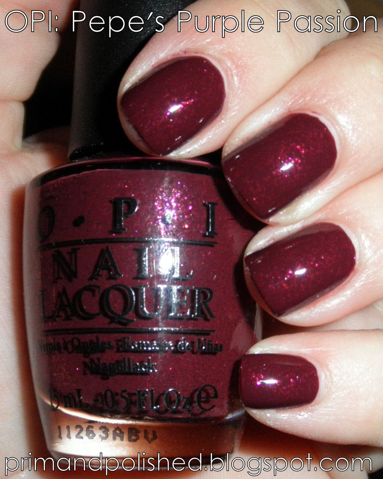 OPI Pepe\'s Purple Passion... have full size | OPI Collection ...