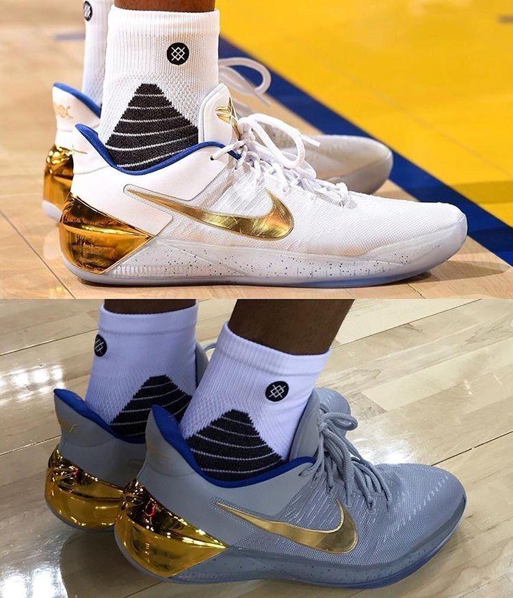 quality design c8ed1 a7967 regram  nbaoncourt Andre Iguodalas Nike Kobe AD PEs (via  nba) http
