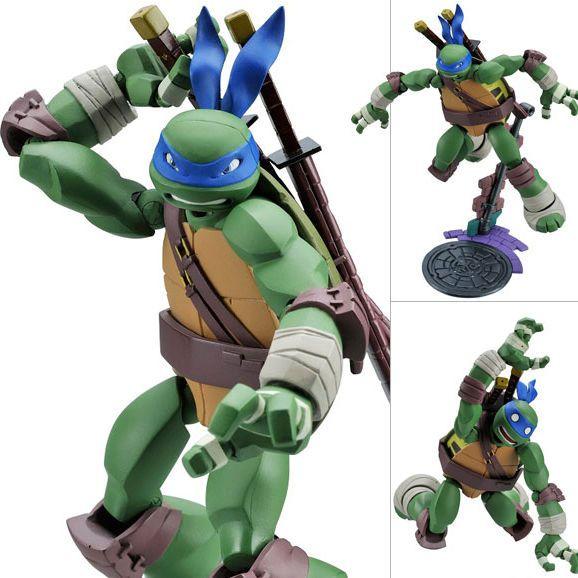 Revoltech Leonardo Teenage Mutant Ninja Turtles Anime Figure Japan